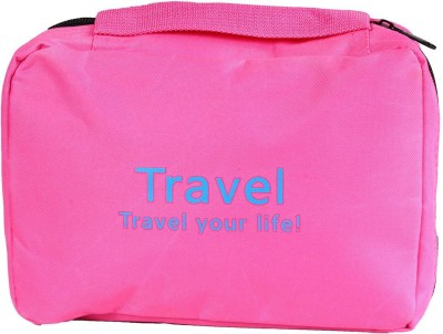 Pretty Krafts Cosmetic Pouch Pink Pretty Krafts Travel Pouches