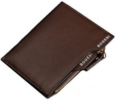 Bogesi Men Brown Genuine Leather Wallet(5 Card Slots) at flipkart