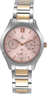 Titan 2570KM01  Analog Watch For Women