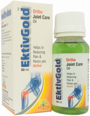 JENIKA EKTIVGOLD ORTHO JOINT PAIN OIL 3 X 50ML Liquid(60 ml)