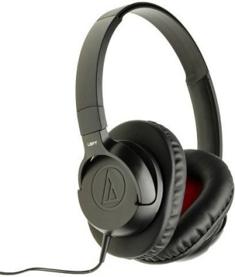 Audio Technica ATH-AX1iS-BK Wired Headphone(Black, Over the Ear) 1