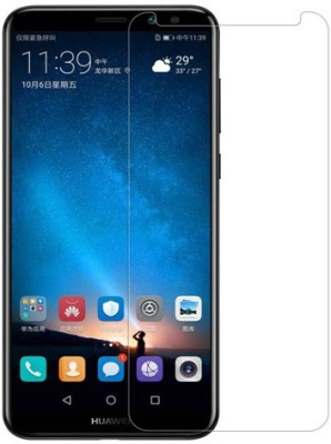 Hycot + Edge To Edge Tempered Glass for HYCOT+ Premium Quality Gorilla Tempered Glass Screen Protector for Huawei Honor 9 Lite (Transparent)(Pack of 1)
