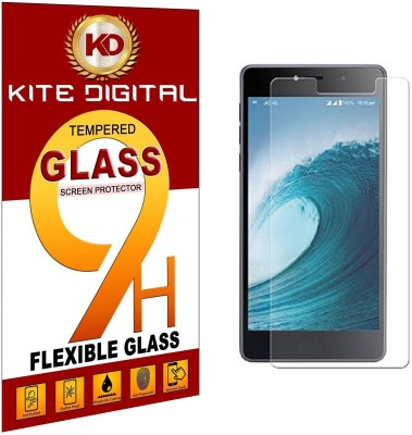 KITE DIGITAL Tempered Glass Guard for LYF WATER 8 Pack of 1 KITE DIGITAL Screen Guards