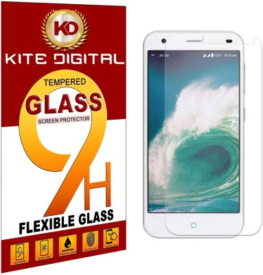 KITE DIGITAL Tempered Glass Guard for LYF Water 7 Pack of 1 KITE DIGITAL Screen Guards