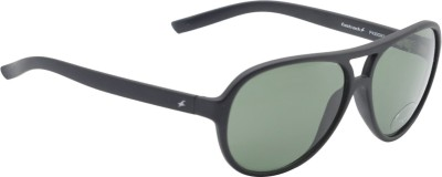 Fastrack Aviator Sunglasses(Green)