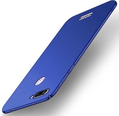 GadgetM Back Cover for Mi Redmi 6(Blue, Plastic)