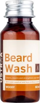 Ustraa By Happily Unmarried Beard Wash (Woody) Hair Oil(60 ml)