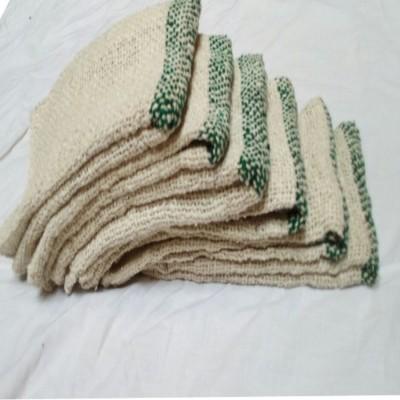 DEHATI HOMEZ SASAHOMEZ Home and Kitchen Floor wet & dry Cleaning Cloth (large Pochha) set of 6 pcs (63x63) White Napkins White Napkins(6 Sheets)
