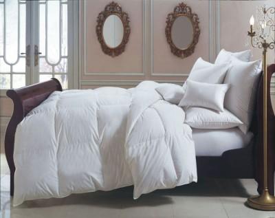 JAIPUR FASHION Solid Double Comforter(Microfiber, White)