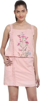 RSVP CROSS Women Blouson Pink Dress