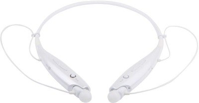 Devinez W07A005-Premium Sound Quality HBS-730 Bluetooth Headset with Mic(White, In the Ear) 1