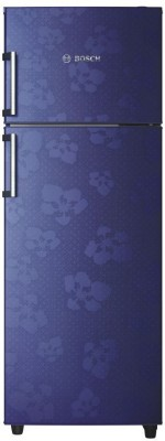 Bosch 347 L Frost Free Double Door 3 Star Refrigerator(Midnight Blue, KDN43VU30I) at flipkart