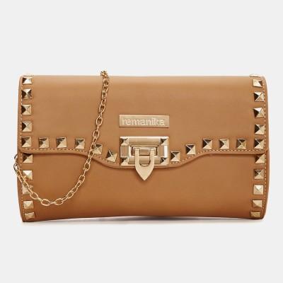 Remanika Brown Sling Bag at flipkart