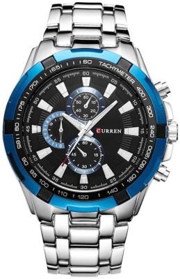 Curren Cur-Blue Decker Watch  - For Men