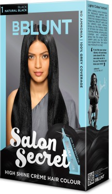 BBlunt Salon Secret High Shine Hair Color(Black)
