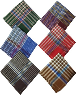 HRV 100% Cotton Premium Collection Handkerchiefs For Men [