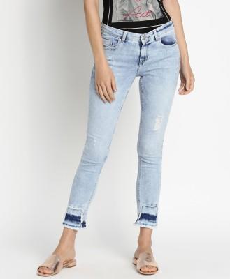Lee Cooper Slim Women Blue Jeans