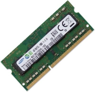 Samsung M471B5173QH0-YK0 DDR3 4 GB (Single Channel) Laptop SODIMM (M471B5173QH0-YK0)(Green)
