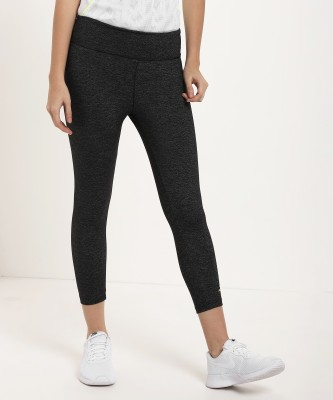 Alcis Solid Women Grey Tights at flipkart