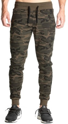 PeppyZone Camouflage Men Multicolor Track Pants