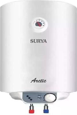 SURYA 25 L Storage Water Geyser (Arctic glasslined polymercoated new, White)