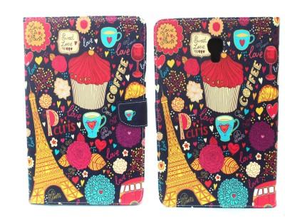 Fashion Flip Cover for Samsung Galaxy Tab A 10.5 inch(Multicolor)
