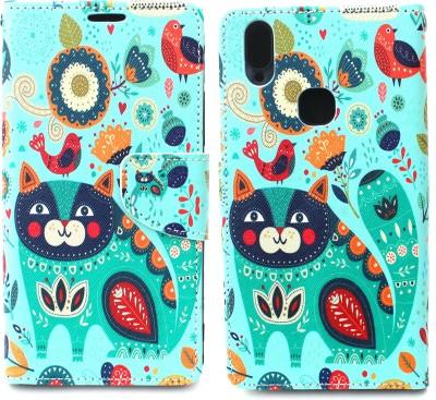 Fashion Flip Cover for Vivo V9(Multicolor)