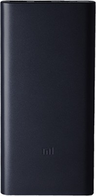 Mi 10000 MAh Power Bank (Black, PLM09ZM)