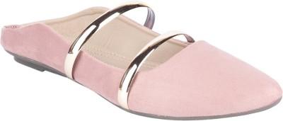 Do Bhai Women Pink Flats