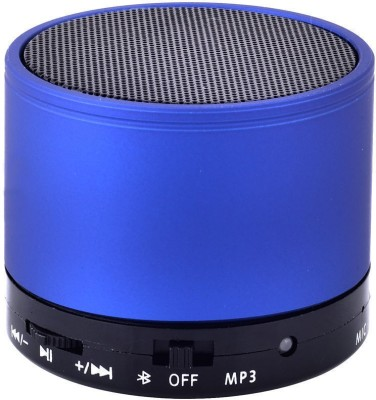 Voltegic ™ DC 5V Mini S10 Portable Wireless Bluetooth Speaker for MP3 MP4 Smartphone PC 5 W Bluetooth Speaker(Blue, Mono...