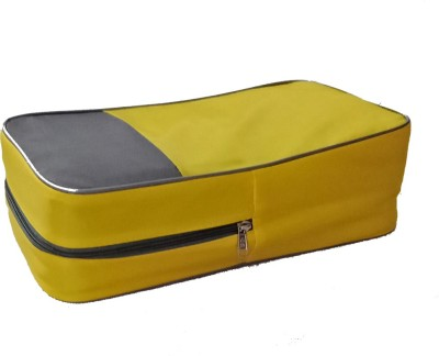 SuiDhaga Shoe Pouch Yellow SuiDhaga Travel Pouches