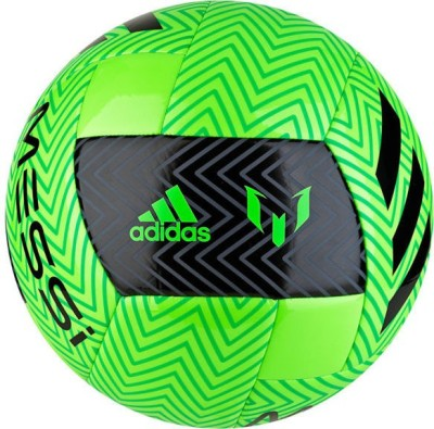 ADIDAS Messi Q3 Football   Size: 5 Pack of 1, Green