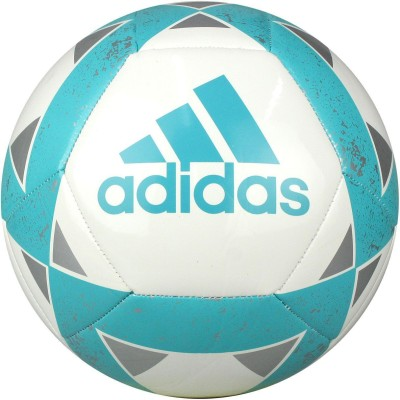 ADIDAS Starlancer V Football   Size: 5 Pack of 1, White