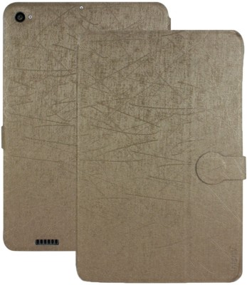 Heartly Flip Cover for Xiaomi Mi Pad 2 Gold