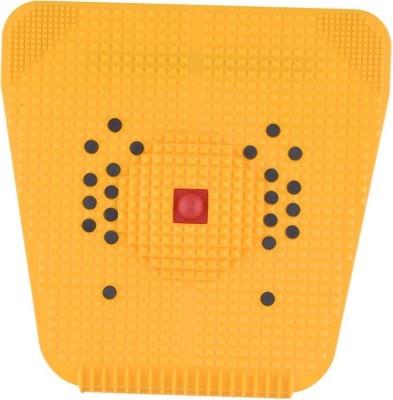 SHIMON acupressure fitness yoga mat for full body fitness slimming with magnet copper stress free Massager(Yellow) at flipkart