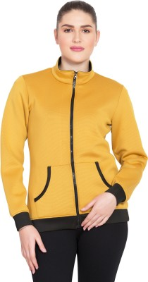 Deewa Full Sleeve Solid Women Jacket