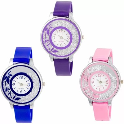 PARALLEL TIMES Presenting Diamond Leaf Pattern For Girls&Women