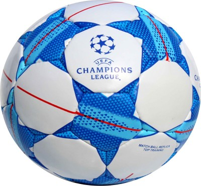 Lycan UEFA Champions League Size 5 Multicolor Football With air fill pin Football   Size: 5 Pack of 1, Multicolor