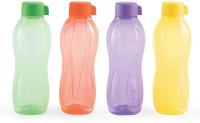 Tupperware safe water bottle 1Litre 1000 ml Bottle(Pack of 4, Multicolor)