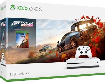 Microsoft Xbox One S 1 TB with Forza Horizon 4(White)