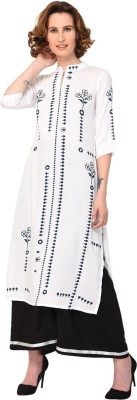 Pannkh Casual Printed, Solid Women