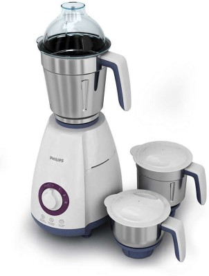 Philips HL 7699/00 750 W Mixer Grinder(White, 3 Jars)