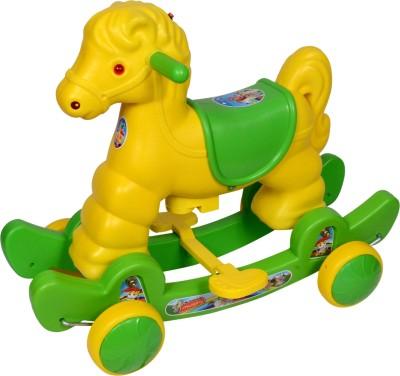 Ehomekart Murphy Rocker cum Ride-on(Green)