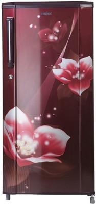 Haier 190 L Direct Cool Single Door 3 Star  2019  Refrigerator Red Magnolia, HRD 1903CRM E Haier Refrigerators