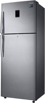 Samsung 415 L Frost Free Double Door 3 Star (2019) Refrigerator(Easy Clean Steel, RT42K5468SL/TL)