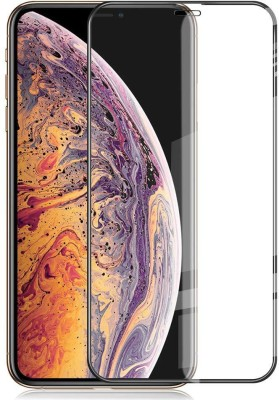 Rosaline Tempered Glass Guard for Apple iPhone XS(Pack of 1)