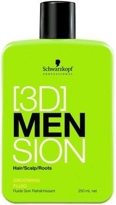 Schwarzkopf 3D Men Sion Grooming Fluid - 250ml(250 ml)