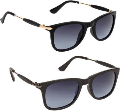 Gansta Wayfarer Sunglasses(Black)