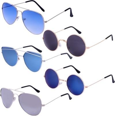 ec7e6a5881c84 Amour-Propre Aviator Sunglasses(Multicolor) Lowest Price in Online ...