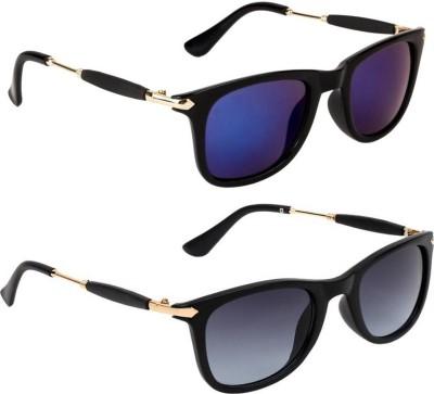 Gansta Wayfarer Sunglasses(Blue)